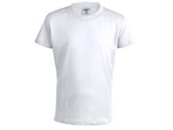 Kinder t-shirt katoen 150 gr. maten5-6/10-11 jaar