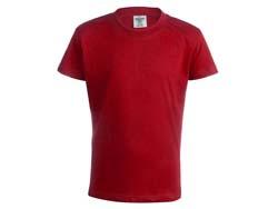 Kinder t-shirt katoen 150 gr. maten: 5-6/10-11 jr