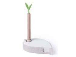 Notitieblaadjes houder tarxestro en houten pen