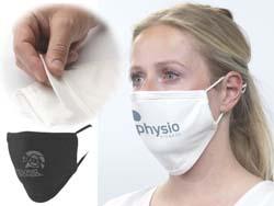 Katoenen mondmasker 2 laags en wasbaar