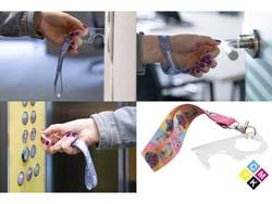 Hygiëne sleutel met polsband touch