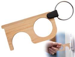 Hygiëne sleutel van bamboe notouch