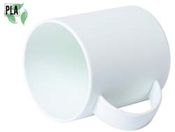 Pla plastic mok 350 ml pioka