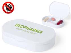 Antibacteriële pillendoosje hempix