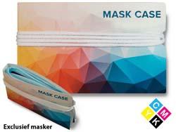 Mapje voor mondmaskers