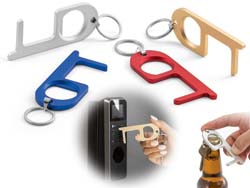 Aluminium multifunctionele sleutelhanger handy