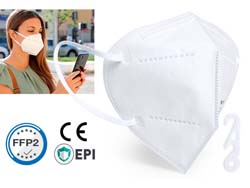 Zelf filterende masker tensil ffp2 5-lagig