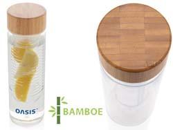 Infuserfles met bamboe dop
